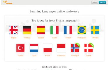 http://www.babbel.com/#Enjoy-Learning-Languages