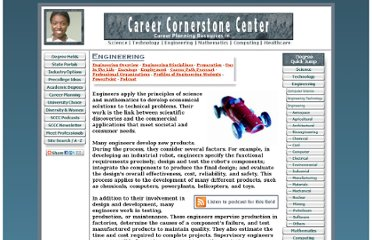 http://www.careercornerstone.org/engineering/engineering.htm