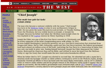http://www.pbs.org/weta/thewest/people/a_c/chiefjoseph.htm