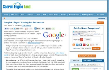 http://searchengineland.com/google-pages-coming-for-businesses-83985