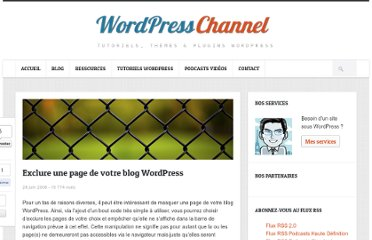 http://wpchannel.com/exclure-page-blog-wordpress/
