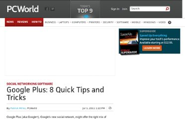 http://www.pcworld.com/article/234972/google_plus_8_quick_tips_and_tricks.html