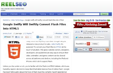 http://www.reelseo.com/convert-flash-files-to-html5/
