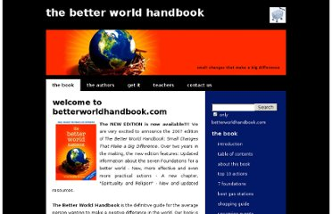 http://www.betterworldhandbook.com/2nd/