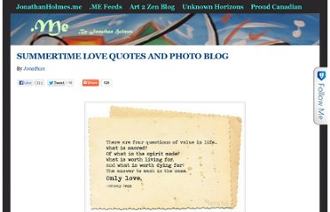 http://jonathanholmes.me/2011/05/summertime-love-quotes-and-photo-blog/