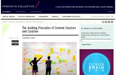 http://fashionscollective.com/FashionAndLuxury/05/the-guiding-principles-of-content-creation-and-curation/