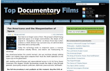 http://topdocumentaryfilms.com/pax-americana-and-the-weaponization-of-space/