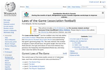 http://en.wikipedia.org/wiki/Laws_of_the_Game_(association_football)