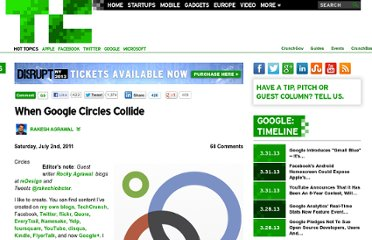 http://techcrunch.com/2011/07/02/when-google-circles-collide/