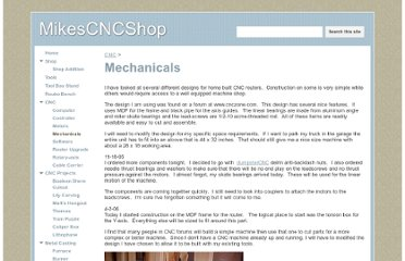 http://www.mikescncshop.com/cnc/mechanicals