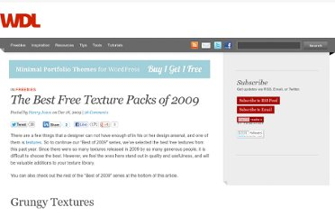 http://webdesignledger.com/freebies/the-best-free-texture-packs-of-2009