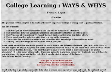 http://www.unm.edu/~quadl/college_learning/attention.html