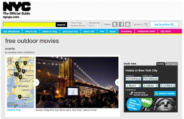 http://www.nycgo.com/articles/free-outdoor-movies-in-nyc