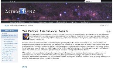http://www.astronomynz.org.nz/introduction/the-phoenix-astronomical-society.html
