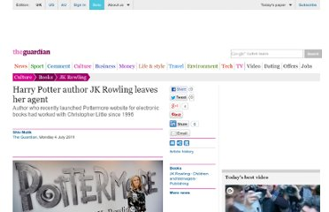http://www.guardian.co.uk/books/2011/jul/04/harry-potter-jk-rowling-agent