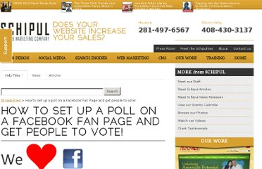 http://schipul.com/help-files/how-to-set-up-a-poll-on-a-facebook-fan-page-and-get-people-to-vote/