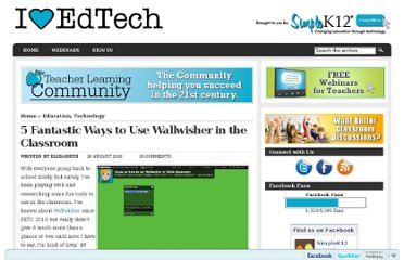 http://blog.simplek12.com/education/5-fantastic-ways-to-use-wallwisher-in-the-classroom/