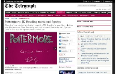 http://www.telegraph.co.uk/culture/harry-potter/8592280/Pottermore-JK-Rowling-facts-and-figures.html