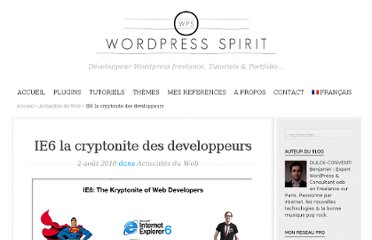http://wordpress-spirit.com/actualites-web/ie6-la-cryptonite-des-developpeurs/