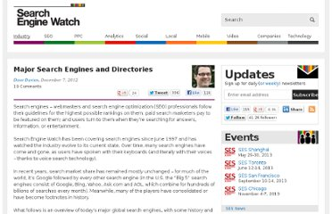 http://searchenginewatch.com/article/2048976/Major-Search-Engines-and-Directories