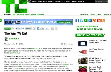 http://techcrunch.com/2011/07/04/the-way-we-eat/