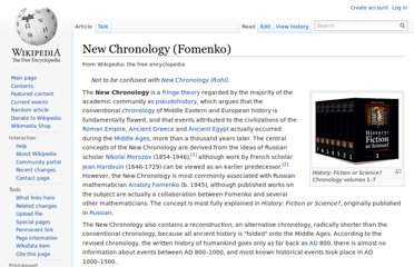http://en.wikipedia.org/wiki/New_Chronology_(Fomenko)