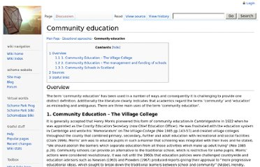 http://www.schome.ac.uk/wiki/Community_education