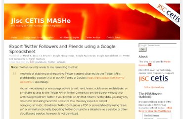 http://mashe.hawksey.info/2011/03/export-twitter-followers/