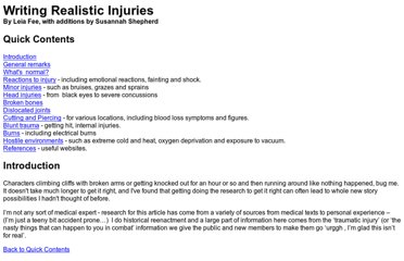 http://www.users.totalise.co.uk/~leiafee/ramblings/realistic_injuries.htm