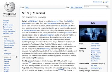 http://en.wikipedia.org/wiki/Suits_(TV_series)