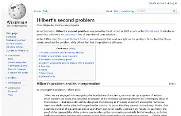http://en.wikipedia.org/wiki/Hilbert%27s_second_problem