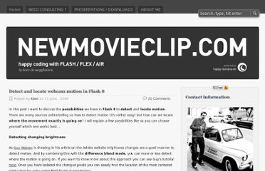 http://blog.newmovieclip.com/2006/06/11/detect-and-locate-webcam-motion-in-flash-8/