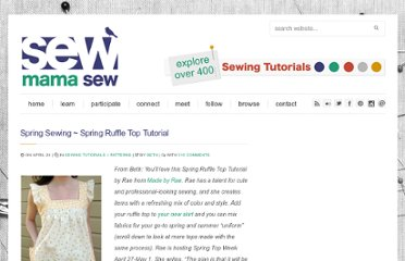 http://sewmamasew.com/blog2/2009/04/spring-sewing-spring-ruffle-top-tutorial/