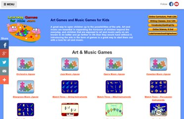 http://www.learninggamesforkids.com/art_and_music_games.html