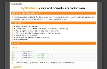http://www.hotajax.org/demo/BySlideMenu/scripts/index.html?ml=1