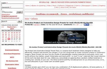 http://avaxhome.ws/software/9b.studios.Product.and.Automotive.Design.Presets.for.modo.Win32.64.OSX.html