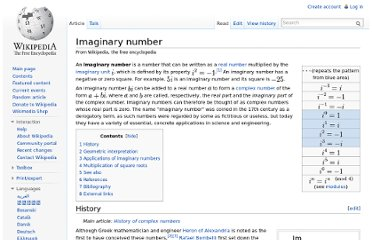 http://en.wikipedia.org/wiki/Imaginary_number