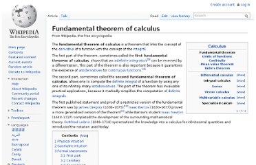 http://en.wikipedia.org/wiki/Fundamental_theorem_of_calculus