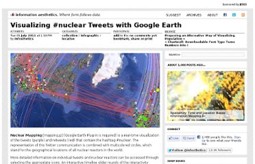 http://infosthetics.com/archives/2011/07/visualizing_nuclear_tweets_with_google_earth.html