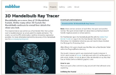 http://www.subblue.com/projects/mandelbulb
