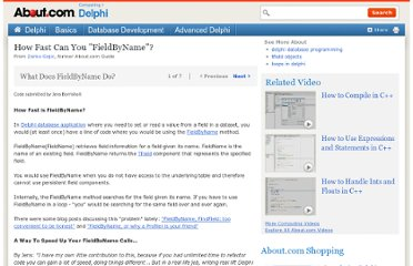 http://delphi.about.com/od/database/ss/faster-fieldbyname-delphi-database.htm