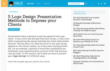 http://naldzgraphics.net/tutorials/5-logo-design-presentation-methods-to-impress-your-clients/