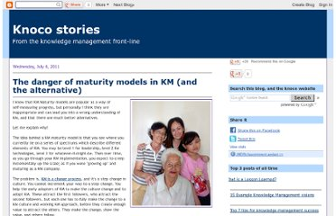 http://www.nickmilton.com/2011/07/danger-of-maturity-models-in-km-and.html