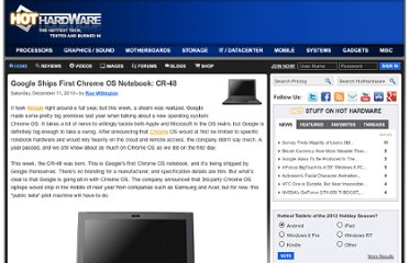 http://hothardware.com/News/Google-Ships-First-Chrome-OS-Notebook-CR48/