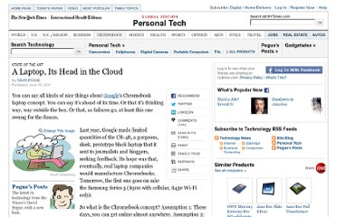 http://www.nytimes.com/2011/06/16/technology/personaltech/16pogue.html?_r=2&pagewanted=1