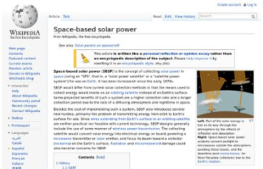 http://en.wikipedia.org/wiki/Space-based_solar_power