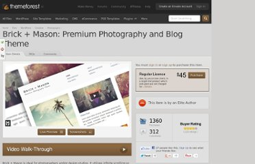 http://themeforest.net/item/brick-mason-premium-photography-and-blog-theme/245497