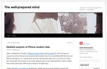 http://wellpreparedmind.wordpress.com/2011/05/02/detailed-analysis-of-iphone-location-data/#comment-92