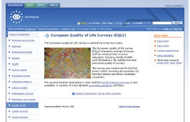 http://www.eurofound.europa.eu/areas/qualityoflife/eqls/index.htm