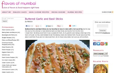 http://www.flavorsofmumbai.com/buttered-garlic-and-basil-sticks/